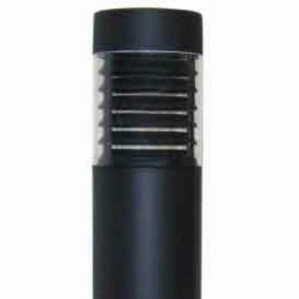 ILBOFLQ-5K LED Bollard Post Light, With Louvered Lens, Flat Top, 15 Watt, 5000K