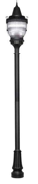 ILPB2D-90-4K 90W LED Pole / Post Top Acorn Light Fixture 90 Watt Deluxe Style with finial