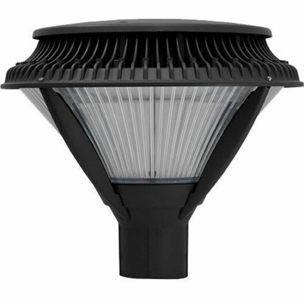 ILPF71-84-4K LED Pole Mounted / Post Top Acorn Light Fixture 84 Watt Modern Style with Acrylic Lens
