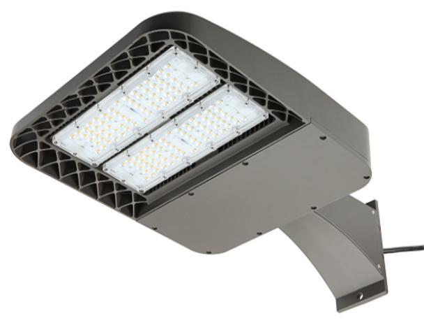 100 Watt Shoebox Light Fixture ,LKHC LED Parking Lot Light  Fixture 400 Watt MH Replacement Arm Mount
