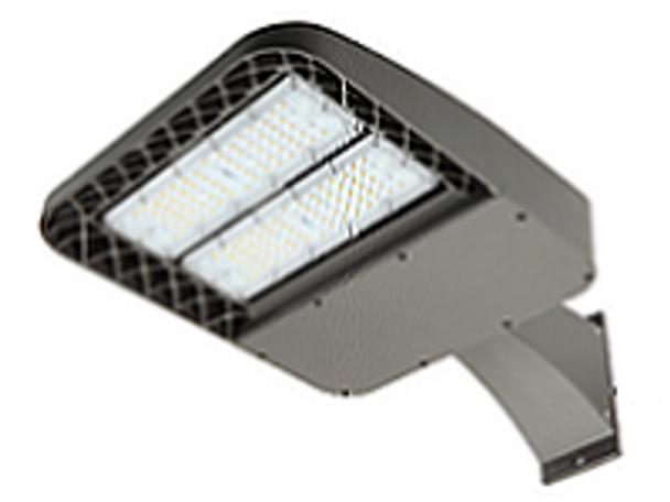 80 Watt Shoebox Light Fixture ,LKHC LED Parking Lot Light  Fixture 320 Watt MH Replacement Arm Mount