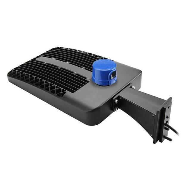 LKHC200-5K-A 200 Watt Shoebox Light Fixture, LED Parking Lot Light Fixture 800 Watt MH Replacement Arm Mount