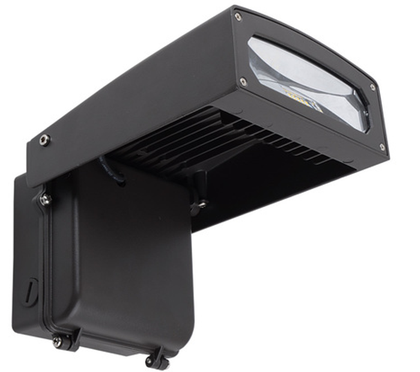 36 Watt LWPMAG Series LED Wall Pack Light Fixture Full Cut Off, Beam Angle