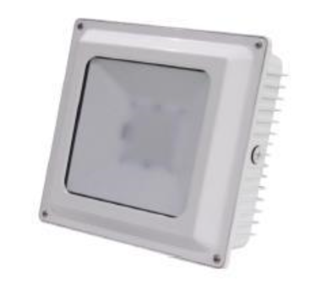 45w LED LGS1 Series Gas Station Canopy light Fixture for Surface and Recessed Canopy Mounting DLC Certified