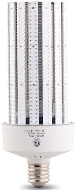 IC100 Amber 100 Watt Sea Turtle Friendly LED Corn Light, HPS Replacement, 360 Degree Beam Angle Mogul (E39/40) Base Amber Color