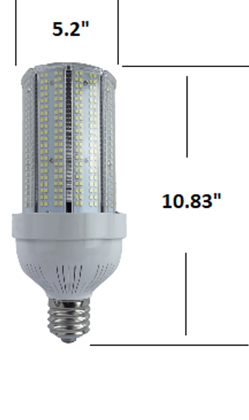 480V 100 Watt LED Metal Halide Replacement, Compact Design 15,500 Lumen Output (E39/40) Base ETL Listed 6000K DLC