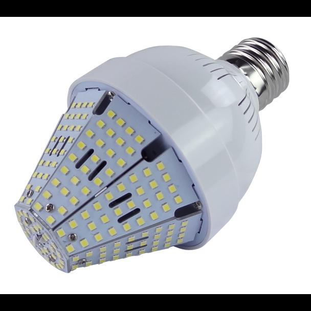 40 Watt Post Top Mounted LED Bulb, HID Replacement Lamps - 6000K