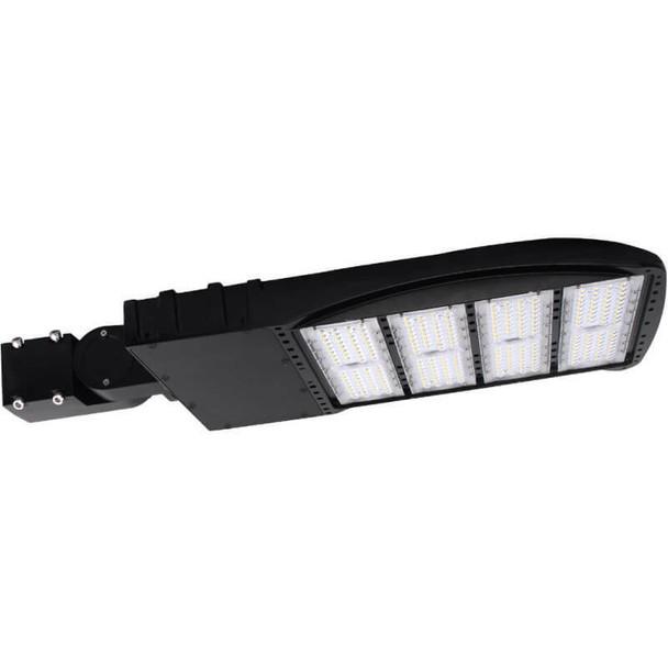 LKHM600-5K-S 600 Watt 81000 Lumens LED Area Light Fixture with slipfitter mount, LKHM Parking Lot Light Fixture 3000 Watt MH Equivalent