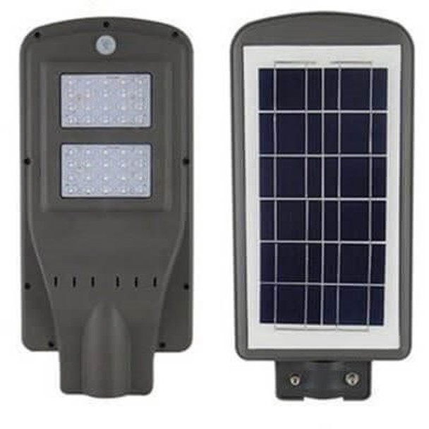 LAS11 11W All-In-One, totally integrated Solar LED Street Light with slipfitter Mount, 1750 Lumens, Type 3 or Type 5 Light Spread