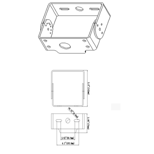 LKHDTR External Mount Trunnion for Deco LKHD Series