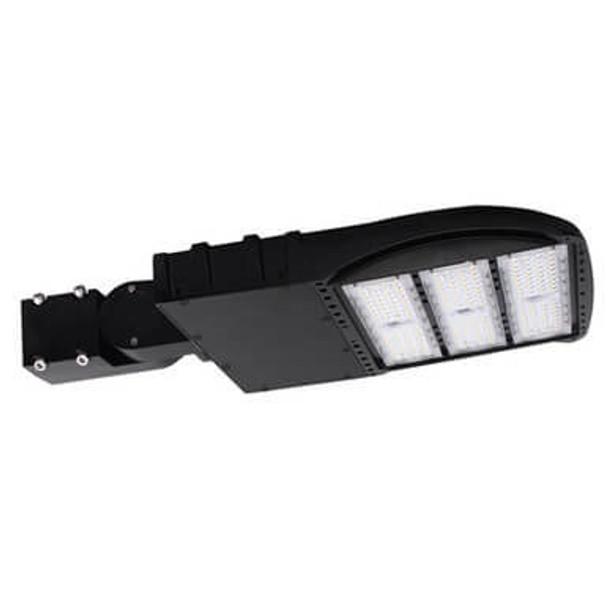 LKHM185-3K-S 185 Watt, 26000 Lumens LED Area Light Fixture with slipfitter mount, 3000K Color temp Pole Light 800 Watt HPS Equivalent