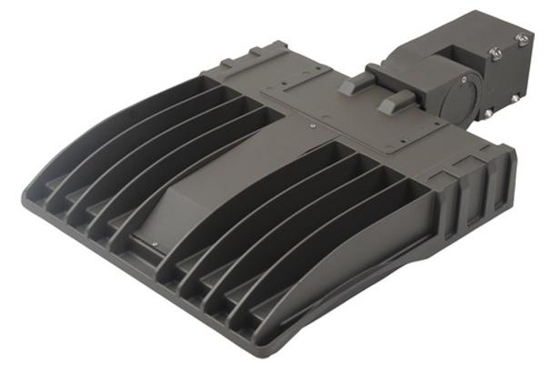 LKHM90-3K-S 90 Watt, 13000 Lumens LED Area Light Fixture with slipfitter mount, 3000K Car Lot Light Fixture 400 Watt HPS Equivalent