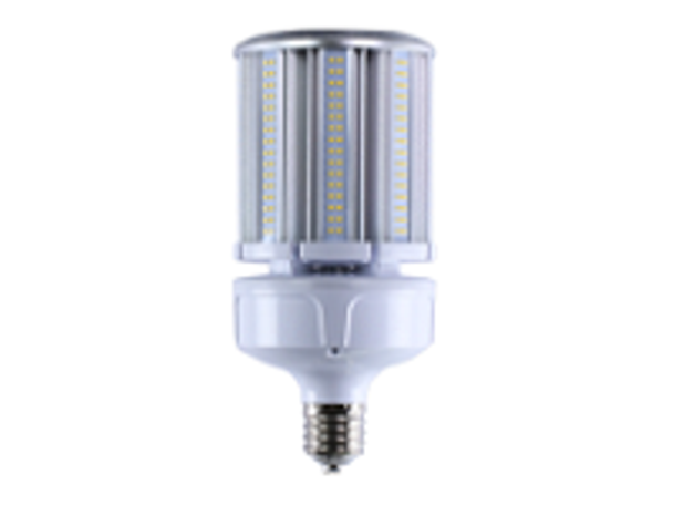 ICEX3980-5K IP65 Rated LED Corn Light Bulb, 80 Watt EX39 Base ETL DLC Listed 5000K, 10400 lumens Fanless Design