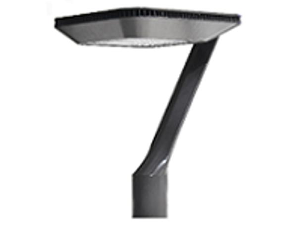 Deco Style LED Post Top Light Fixture 75 Watt Artistic Style with Acrylic Lens 9500 Lumens UL DLC Dark Skies Full Cutoff