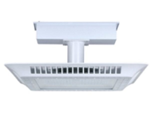 100w LED LGSR Series Retrofit Gas Station Canopy light Fixture for HID replacement for Petroleum filling Stations DLC Certified