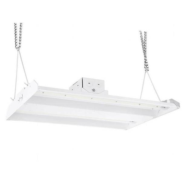 ILLHB4150-5K-480V 150 Watt 10 Year LED Linear High Bay Light Fixture ILLHB Series Fluorescent Replacement 2x4 Ft