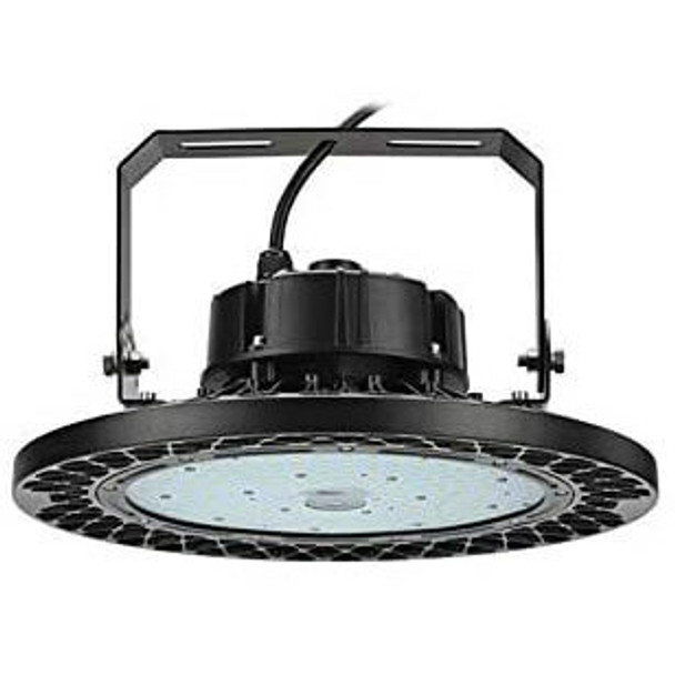 LRHB100-5K-480V Round LED High Bay light \ Low Bay Light Fixture with Philips LED Array, 100 Watt LRHB100 Series 400W Metal Halide replacement