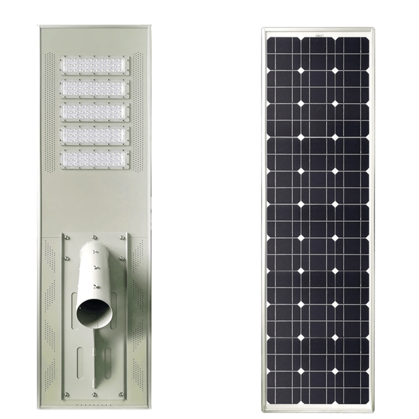 LAR100 100W Integrated Solar LED Area Light\ 100 watt Solar powered Parking Lot Light, Pole Mounted 100 Watt LED Array