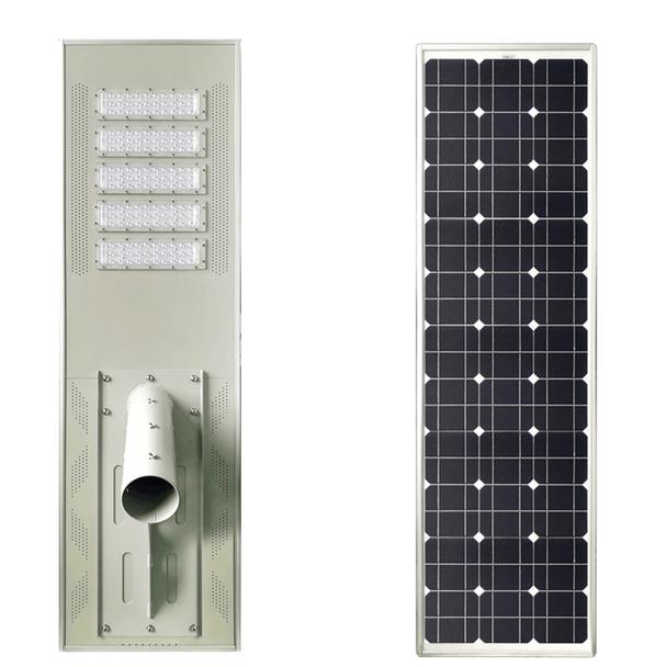 LAR120 120W Integrated Solar LED Area Light\ 120 watt Solar powered Parking Lot Light, Pole Mounted High Power LED Array