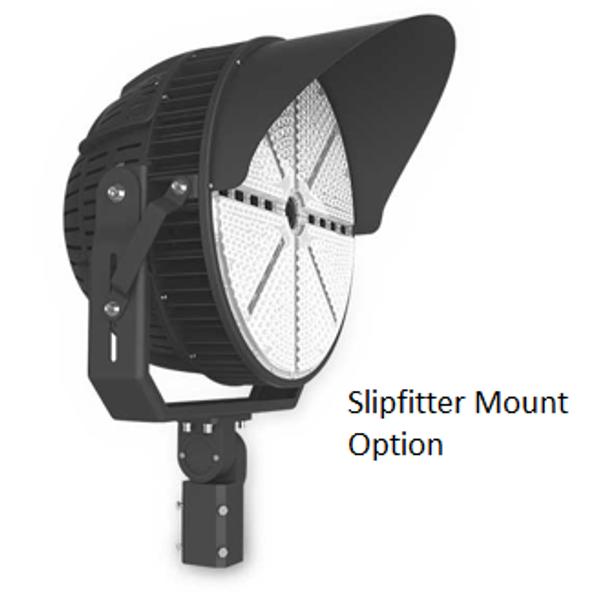 480 Volt 1000 Watt LED Stadium Spot Light for Athletic fields and sports arenas. High Power LED Array UL DLC
