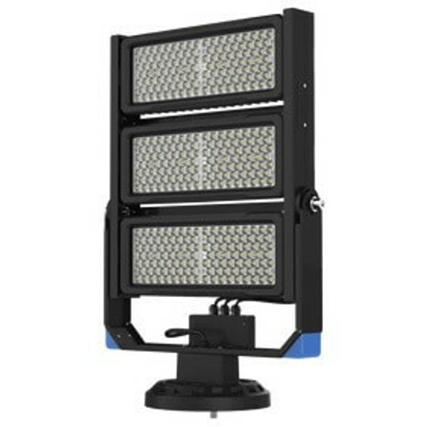 LSLM750-5K Linear 750 Watt LED Flood Light with individually adjustable LED Arrays for Arenas and sports Field Lighting UL DLC