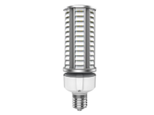 27 Watt Dark Skies Compliant LED Retrofit Bulb, E26 Base with E39 Adapter UL DLC Listed 5K, 4kv surge protection. UL DLC Certified 5000K Color.