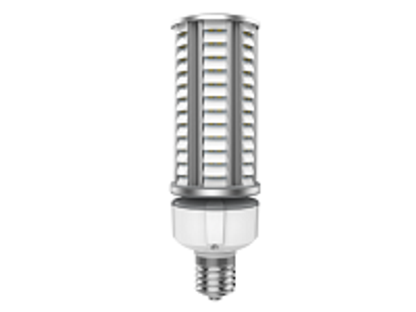 ICDS36-5K 36 Watt Dark Skies Compliant LED Retrofit Bulb, E26 Base with E39 Adapter UL DLC Listed 5K, 4kv surge protection. UL DLC Certified 5000K Color.