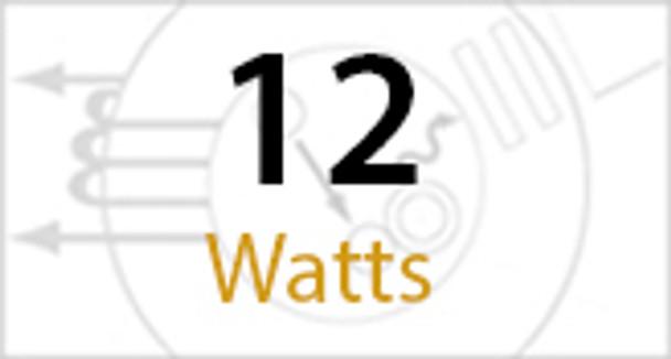 ICFV12-3K 12 Watt Round Type AB LED PL light Bulb 140 degree Beam Angle 3000K, 32w Ballast Compatible CFL Replacement