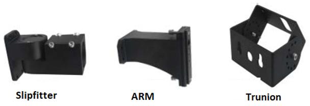 480V 45 Watt  LED Area Light Fixture with Arm Mount ,5000K Color Temperature Light Fixture 250 Watt MH Equivalent