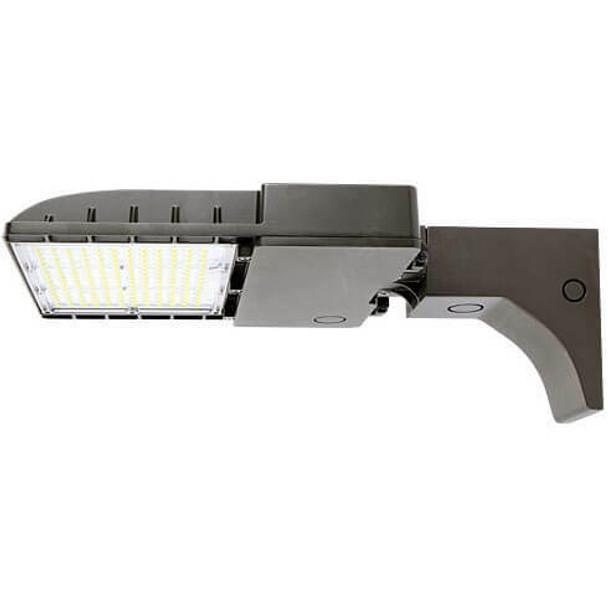 IL-MAL04-75-5K-A 480V 75 Watt LED Area Light Fixture with Arm Mount, 5000K Color Temp, Light Fixture, 320 Watt MH Equivalent
