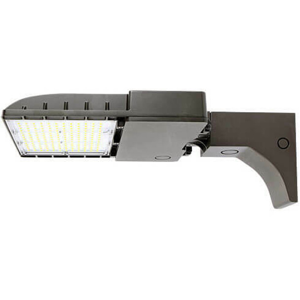 IL-MAL04-200-5K-A 480V 200 Watt Medium frame, LED Area Light Fixture with Arm Mount, 5000K Color Temperature Light Fixture 800 Watt MH Equivalent
