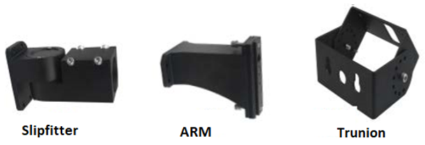 4000K Color Temp., 480V Medium Frame 250 Watt  LED Area Light Fixture with Arm Mount ,Area Light Fixture 1000 Watt Metal Halide Equivalent