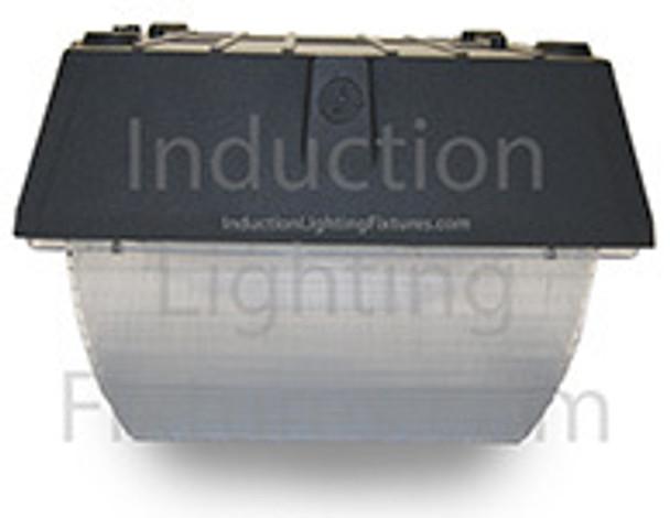 "IGF240 40 Watt Induction Parking Garage Light Fixture / 12"" Square Outdoor Fixture, Canopy Light"