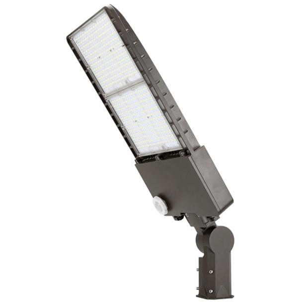 IL-MAL04-300-5K-S 480 VAC 300 Watt High Power, LED Flood Light Fixture with Arm Mount, 5000K Color Temperature Area Light Fixture 1500 Watt MH Equivalent