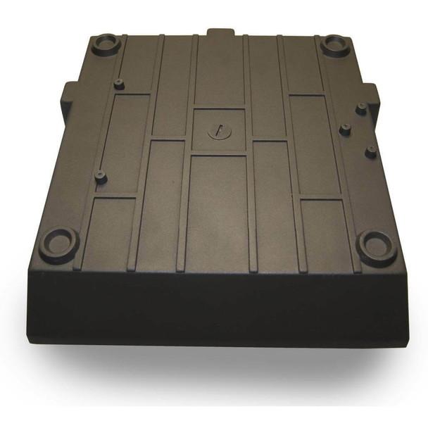 "IGF260 60 Watt Induction Parking Garage Light Fixture / 12"" Square Outdoor Fixture, Canopy Light"