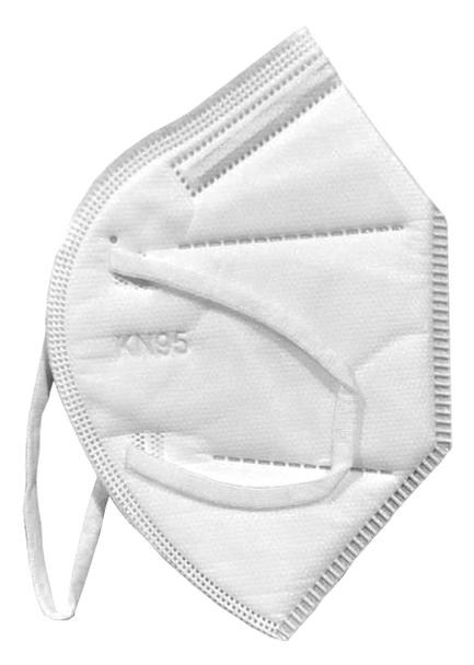 KN95 - Particle Respirator Face Mask - 100 PACK