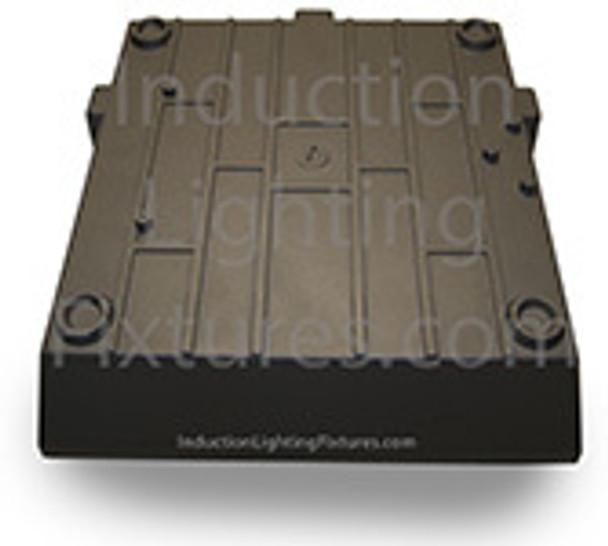 "IGF280 80 Watt Induction Parking Garage Light Fixture / 12"" Square Outdoor Fixture, Canopy Light"