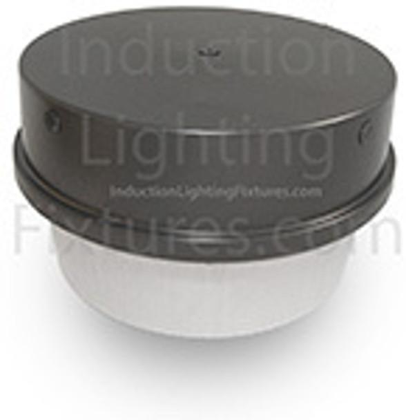"IGF3120 Series 120 Watt Induction Canopy Light Fixture / 15"" Round Parking Garage Light Fixture"