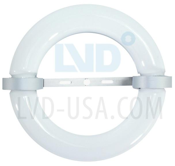 LVD-TX50W LVD Saturn 50W Induction Circular Light Round Lamp and Ballast Retrofit Kit 120v 3000K - 5000K