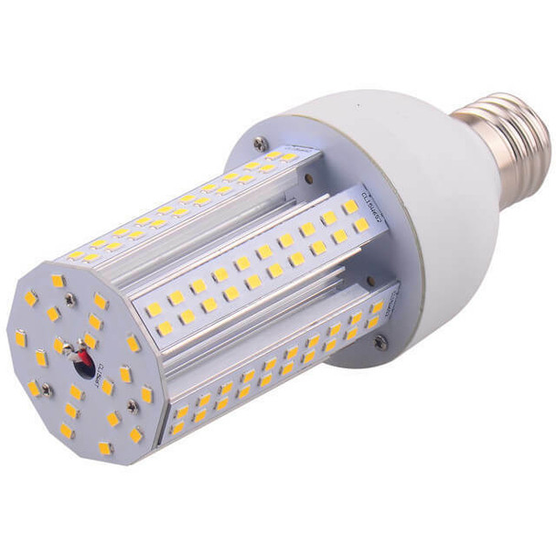ICD15 Triac Dimmable 15 Watt Corn Cob LED for 120v, 360 Degree, E26 Medium Base UL & DLC 3000K - 6000K
