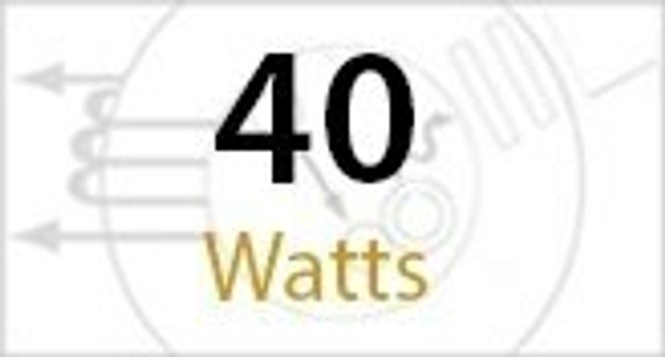 ICD40 Triac Dimmable 40 Watt Corn Cob LED 120v, 360 Degrees, E26 / E39 Base UL & DLC 3000K - 6000K