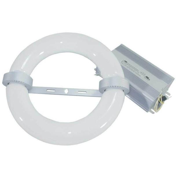 ILRL80 80W Induction Circular Light, Round Lamp and Ballast Retrofit Kit 120v 3000K - 6000K