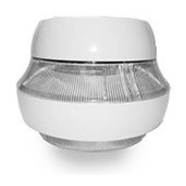 """IGF680 Series 80w Induction Parking Garage Light Fixture / White 15"""" Round Fixture for Surface and Canopy Light 80 watt"""