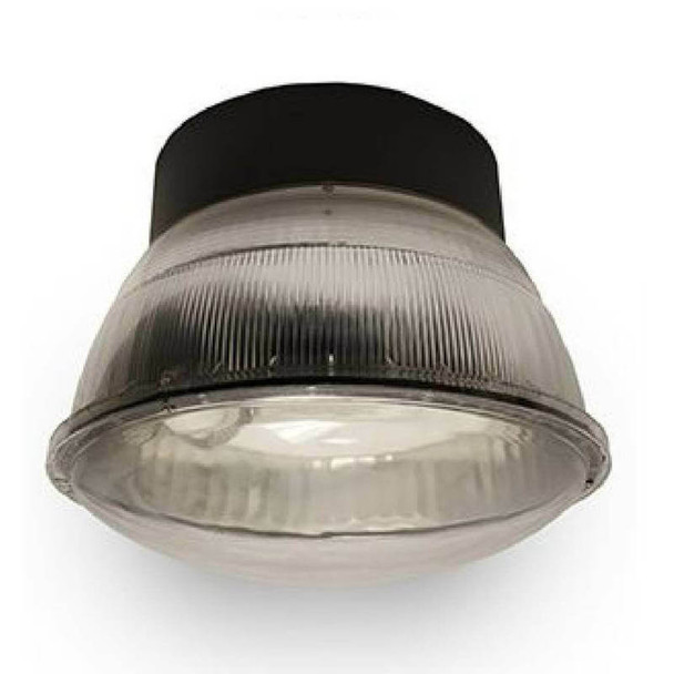 "IGF7 60w Induction Parking Garage Fixture / Aluminum 16"" Round Parking Lot light and Canopy Light Fixture"