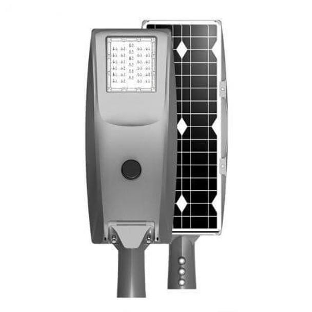 ILLS-70 70W All In One Solar LED Street Light with Motion Sensor, 12v Lithium Battery, 3000K - 6000K