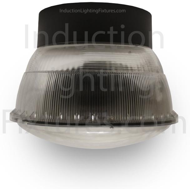 "IGF7 100w Induction Parking Garage Fixture / Aluminum 16"" Round Parking Lot light and Canopy Light Fixture"