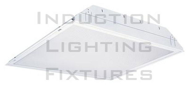 IRF6150 Series 150W Induction 2x2 ft. Troffer Ceiling Light Fixture Lay-in Recessed with High Reflector Lens 150 Watt