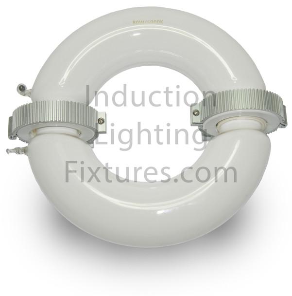 ILRL5k-120 Series 120 Watt Induction Circular Light, Round Lamp and Ballast Retrofit Kit 120W, 5000K