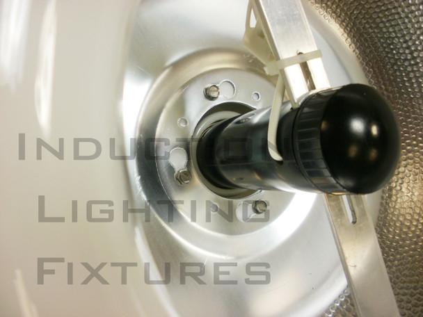 "IHB5 Series 250W Induction High Bay with 22"" Smooth Aluminum Reflector Warehouse Light Fixture 250 watt"