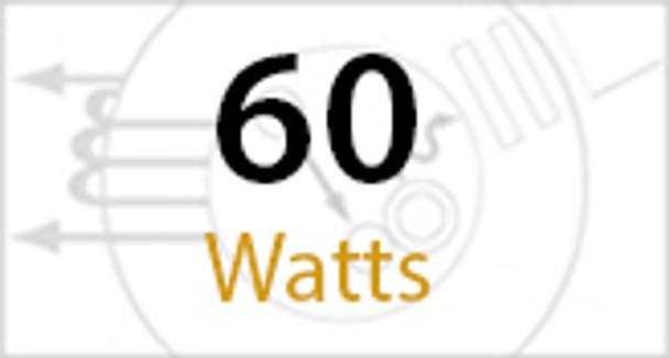 IW1M60 Series 60W Induction Wall Pack Outdoor Light Fixture Mini 14 inch width, 45 Degree Cutoff, 60 Watt